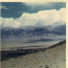Image of the San Luis valley with the Sangre de Cristo range in the background